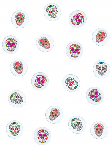 Papieren Dia de los Muertos tafeldecoraties-1