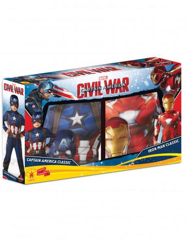 2 kinderkostuums van Iron Man™ en Captain America™ - Civil War™-1