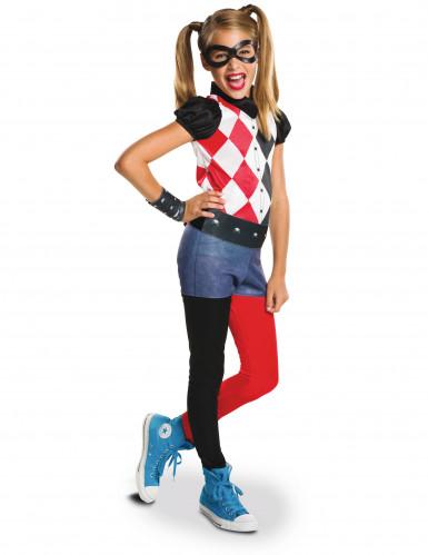 Superhero Girls™ Harley Quinn™ kostuum voor meisjes