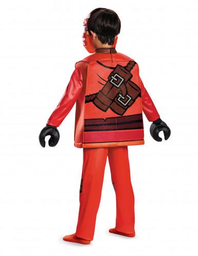 Deluxe Lego Kai Ninjago™ kostuum voor kinderen-2