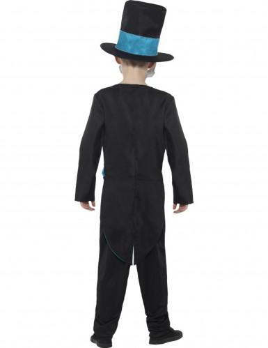 Dia de los Muertos skelet kostuum voor jongens-1
