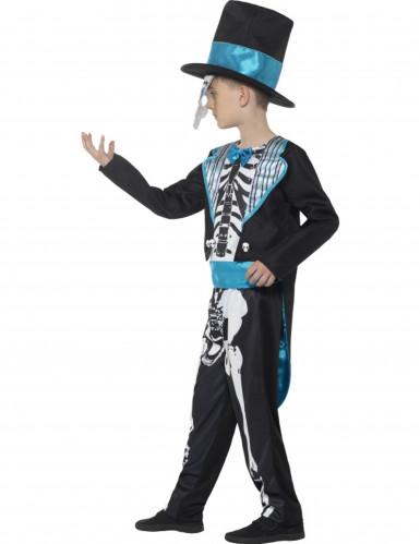 Dia de los Muertos skelet kostuum voor jongens-2