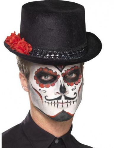 Dia de los Muertos hoge hoed voor volwassenen-1