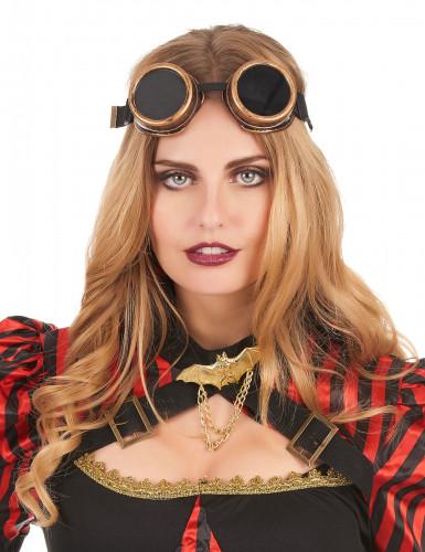 Koperachtige steampunk bril voor volwassenen-1