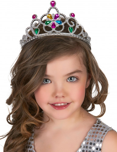 Veelkleurige prinsessen tiara voor volwassenen en kinderen-1