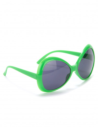 Groene discobril voor volwassenen