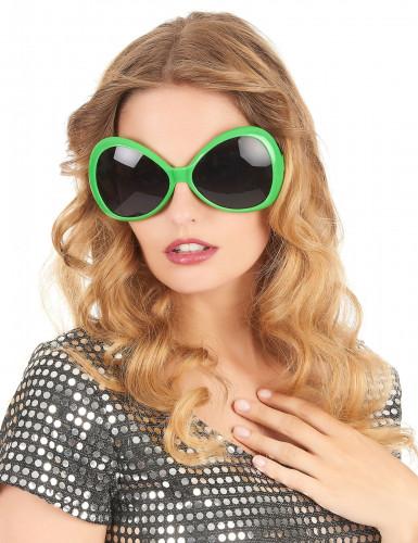 Groene discobril voor volwassenen-1