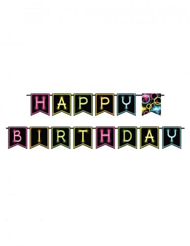 Glow Party verjaardagsslinger