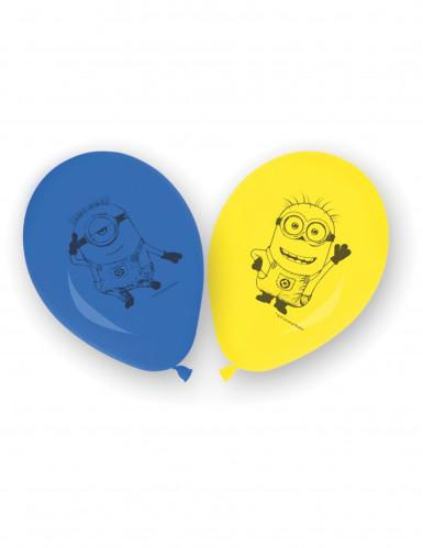 8 latex Minions™ ballonnen