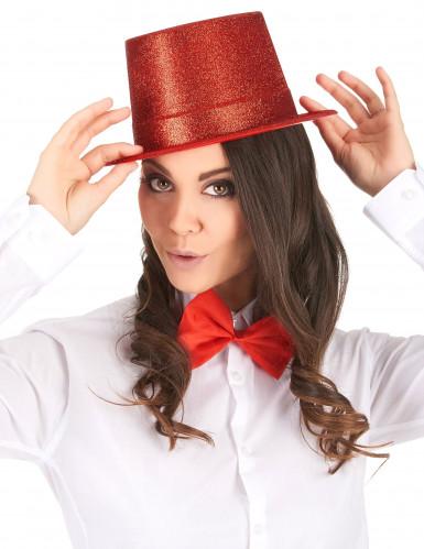 Hoge glitter hoed voor volwassenen-1