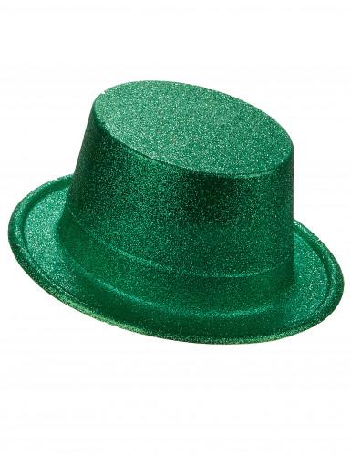 Groene hoge hoed voor volwassenen