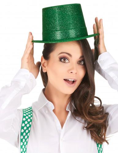 Groene hoge hoed voor volwassenen-1