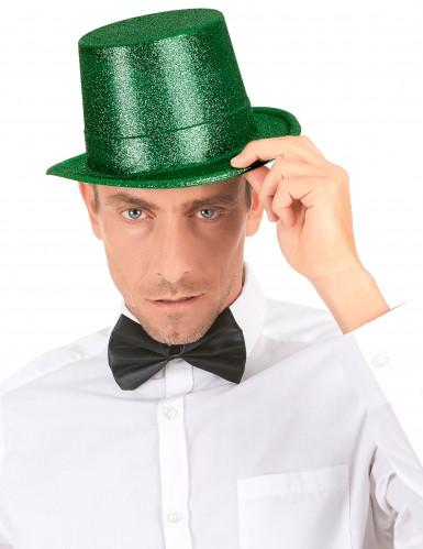 Groene hoge hoed voor volwassenen-2