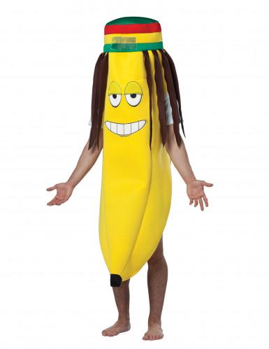 Rasta banaan kostuum voor volwassenen
