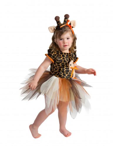 Giraffe kostuum voor baby's - Premium