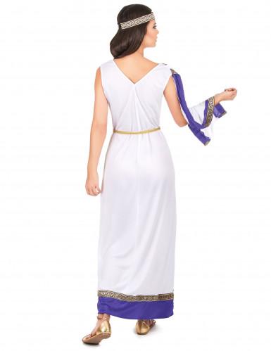 Paars Romeins kostuum voor vrouwen-2