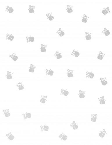 Sneeuwpop tafelconfetti-1