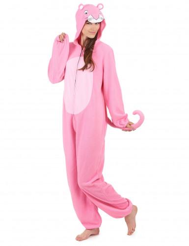 Roze panter kostuum voor dames