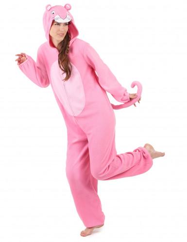Roze panter kostuum voor dames-1