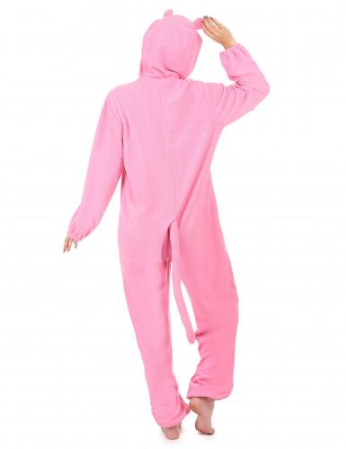 Roze panter kostuum voor dames-2
