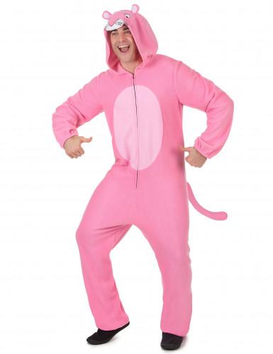 Roze panter kostuum voor mannen-1