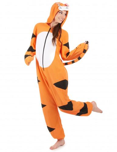 Eendelig tijger kostuum voor vrouwen-1