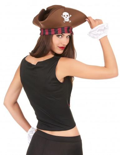 Piraten korset en armstukken voor vrouwen-1