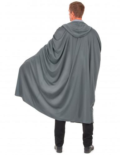Lange grijze cape-1