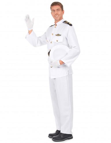 Marine officier kostuum voor volwassenen-1
