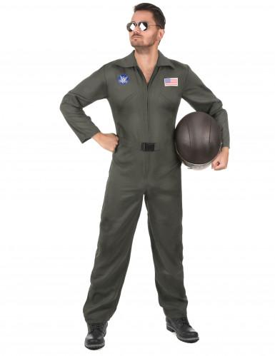 Vliegpiloot kostuum voor volwassenen