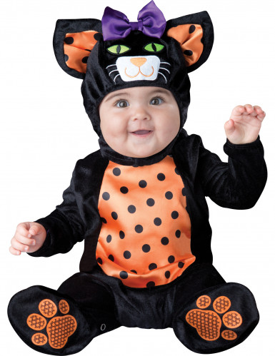 Poes kostuum voor baby's - Klassiek