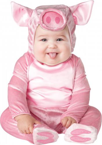 Klein varken kostuum voor baby's - Klassiek