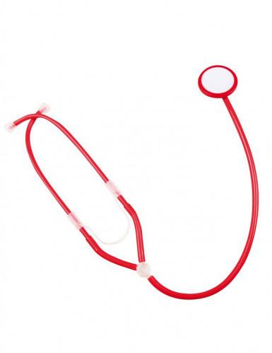 Rode stethoscoop voor verpleegsters-1