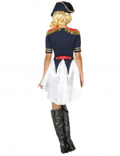 Frans soldatenkostuum voor vrouwen-1