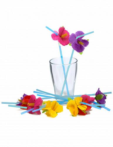 12 Hawaii bloemen rietjes-1