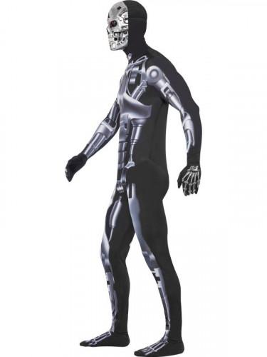 Terminator™ T-800 cyborg kostuum voor volwassenen-2