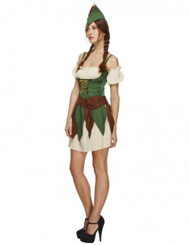 Sexy woud dief kostuum voor vrouwen-2