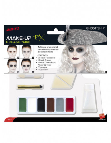 Spook piraten make-up set voor vrouwen-1