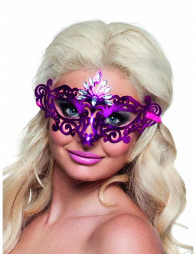 Sexy roze masker voor vrouwen
