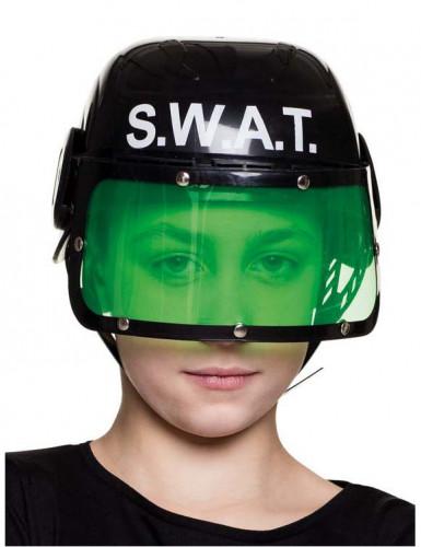 politie swat helm voor jongens. Black Bedroom Furniture Sets. Home Design Ideas