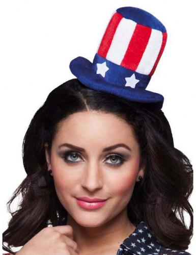 Amerikaans mini hoedje voor volwassenen