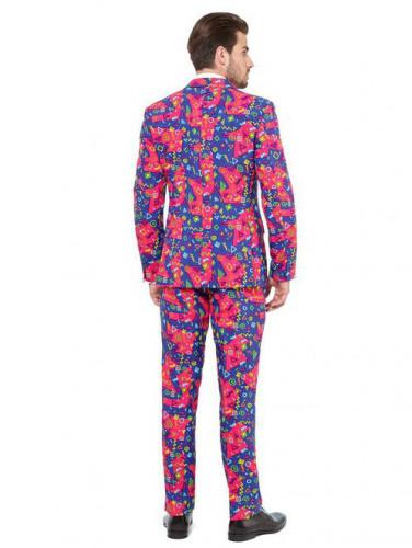 Kleurrijke symbolen Opposuits™ kostuum voor mannen-1