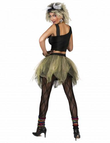 Jaren 80 disco rock kostuum voor vrouwen-1