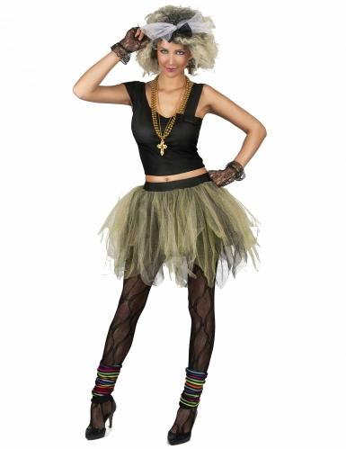 Jaren 80 disco rock kostuum voor vrouwen-2