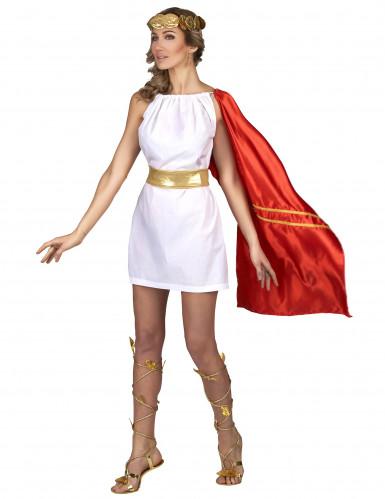 Romeins Claudia kostuum voor vrouwen-1