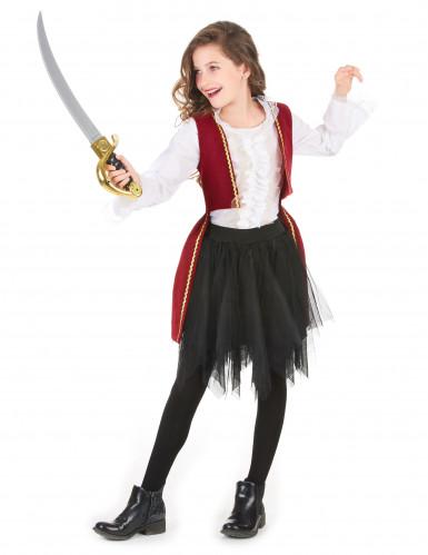 Piraten outfit met tule rok voor meisjes