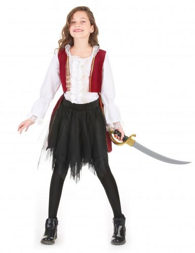 Piraten outfit met tule rok voor meisjes-1
