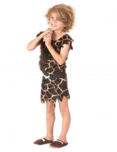 Holbewoner kostuum voor kinderen-1