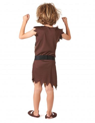 Holbewoner kostuum voor kinderen-2