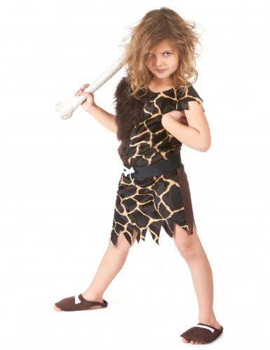 Holbewoner kostuum voor kinderen-3